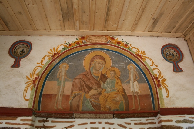 043 Marouda 1796 fresco Holy Virgin and child