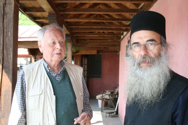 049 Marouda JPtB and Father Makarios