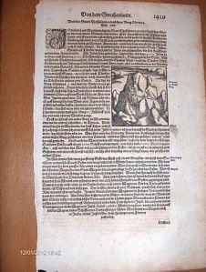 Oude afbeelding uit boek 1600