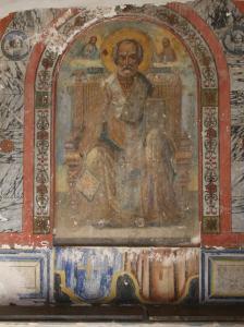 038 Stavronikita fresco