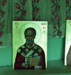 096 Athos - nabij Karyes -de bestelde icoon