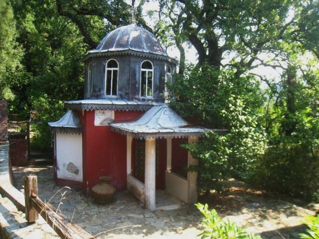 03-10 16 Panaghia chapel near the Monastery IVIRON
