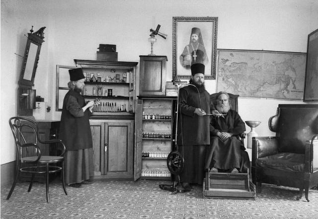Andreou dental office, beginning 1900