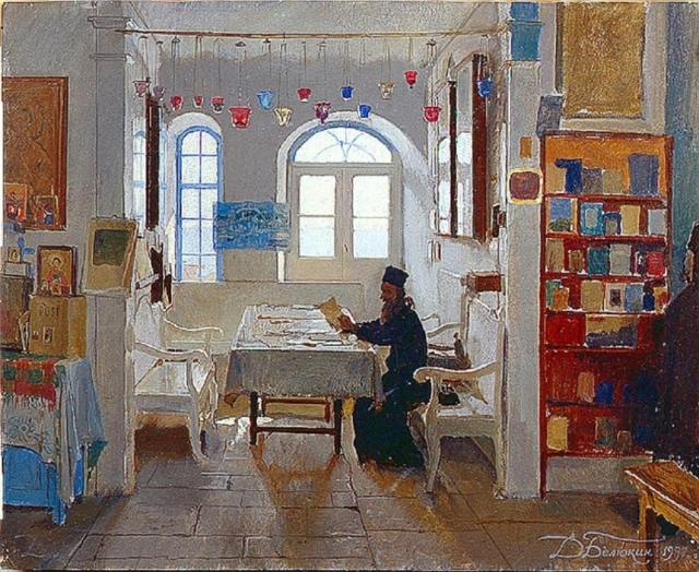 dmitri-belyukin-in-the-monastery-guesthouse-on-athos-1997