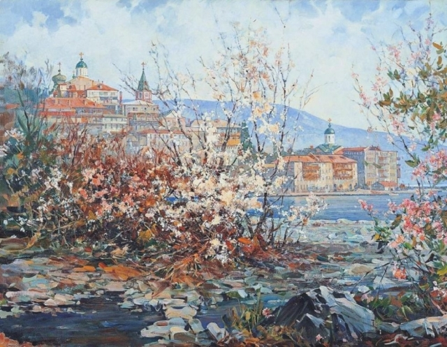 vasili-nesterenko-spring-on-mount-athos-seasons-cycle-picture-2-1996