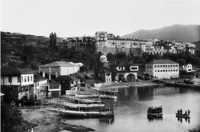 Vatopedi beginning 1900