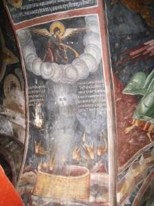 1296 - the cyclus of the Apocalypse of John in the Exonarthex of Karakalou