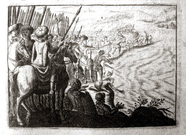 xerxes channel engraving 1693