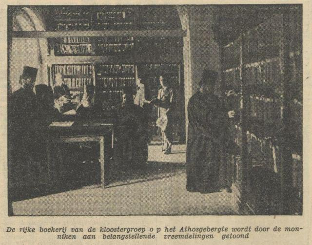 1934-08-24 De Tijd foto bibliotheek