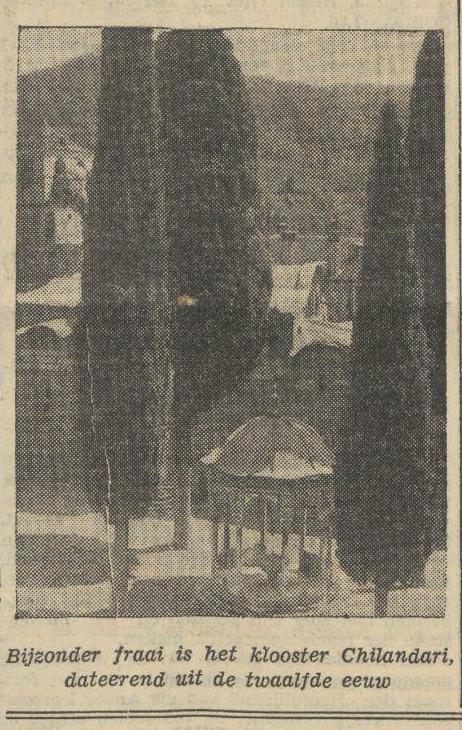 1934-08-24 De Tijd foto Chilandariou