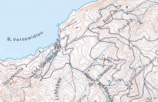 map skiti Ag.Dimitriou