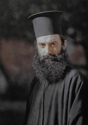 athenagoras in Iviron 1918