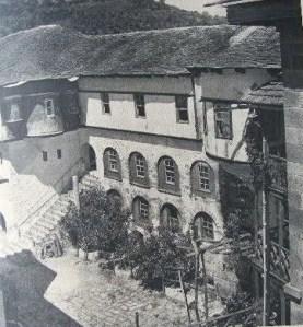randoll coate Mont Athos 1949 Karakallou
