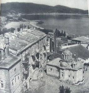 randoll coate Mont Athos 1949 Vatopedi