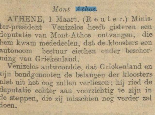 1913-03-02 Handelsblad artikel