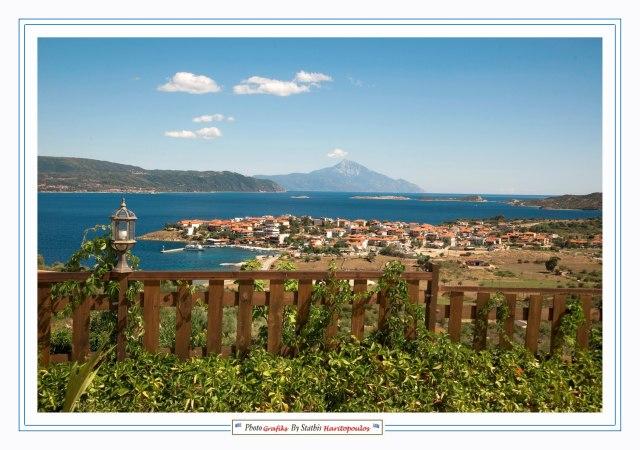 Mountain Amouliani and Ouranopolis 2