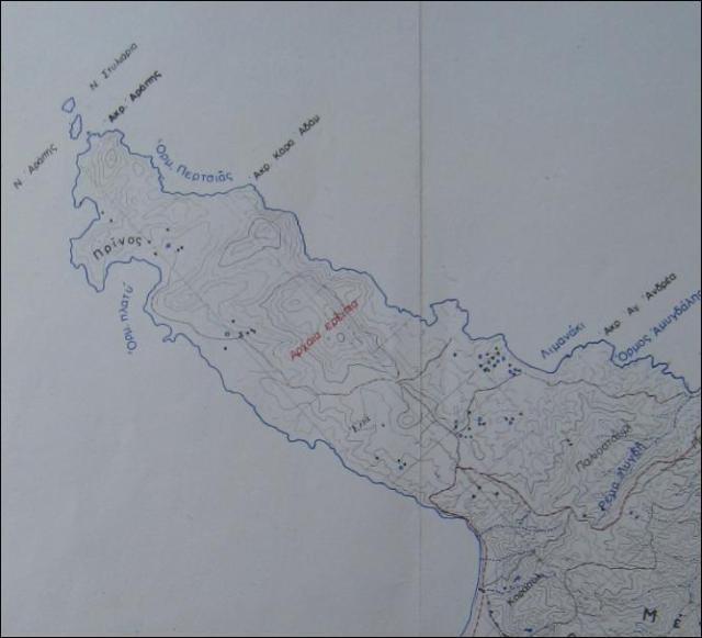 arapis greek map