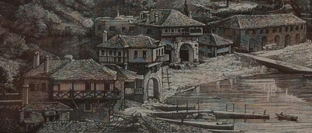 Vatopediou 1876 detail
