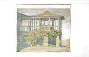 kiosk pavillon de l'Aga