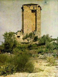 Athos 1914-18 Mitulin tower 2
