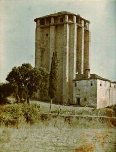 Athos 1914-18 Mitulin tower