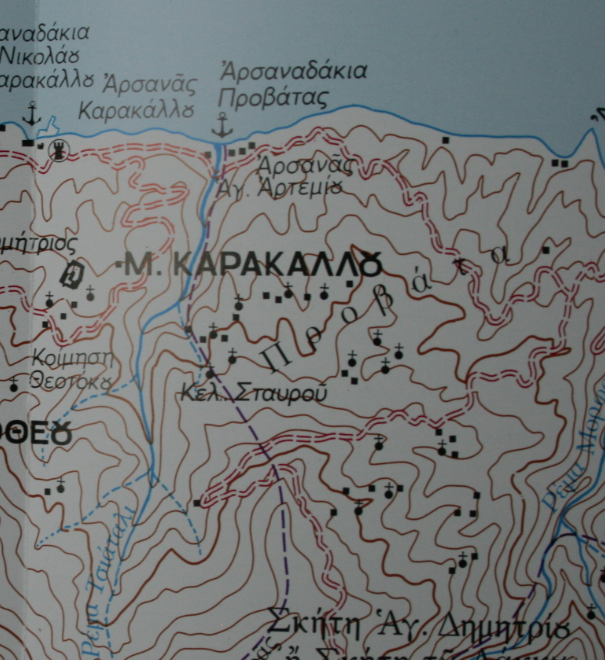 prov kara map