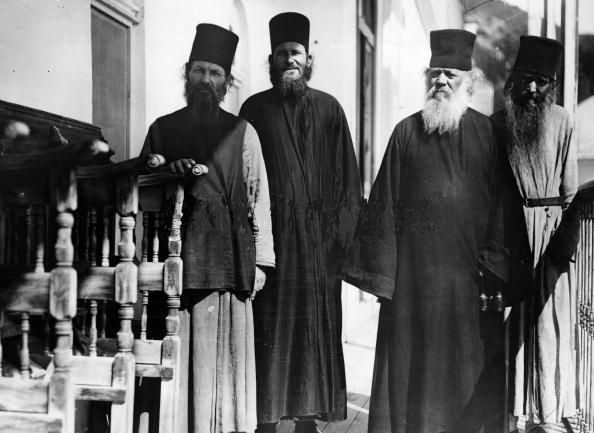 WWII 1940 Athos monks Brown