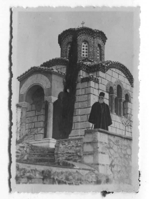 WWII Wehrmacht, Kloster auf dem Berg Athos, Chalkidiki, Griechenland 1941