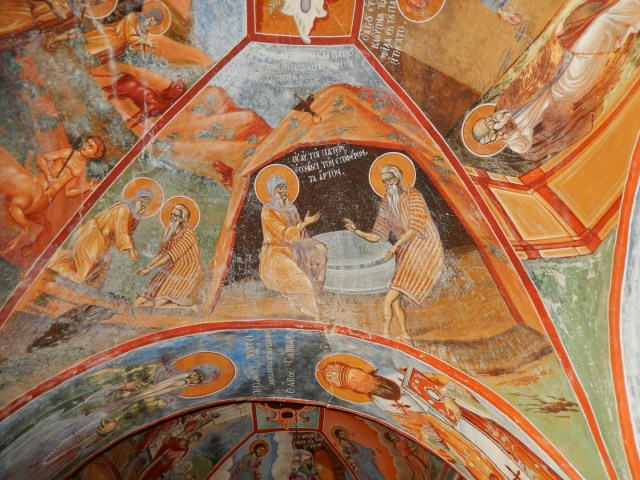 1507 - Skiti Agiou Dimitriou: frescoes from the exonarthex - 2