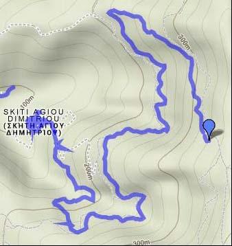 map 2A Skiti Dimitriou - Bogoroditsa