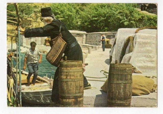 postcard live on athos