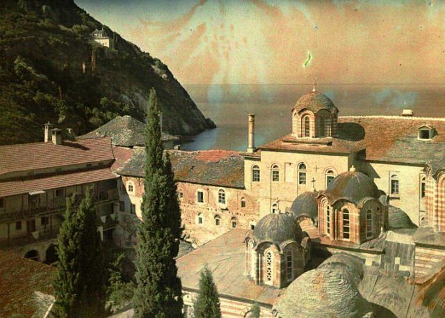 esfigmenou by cuville 1918