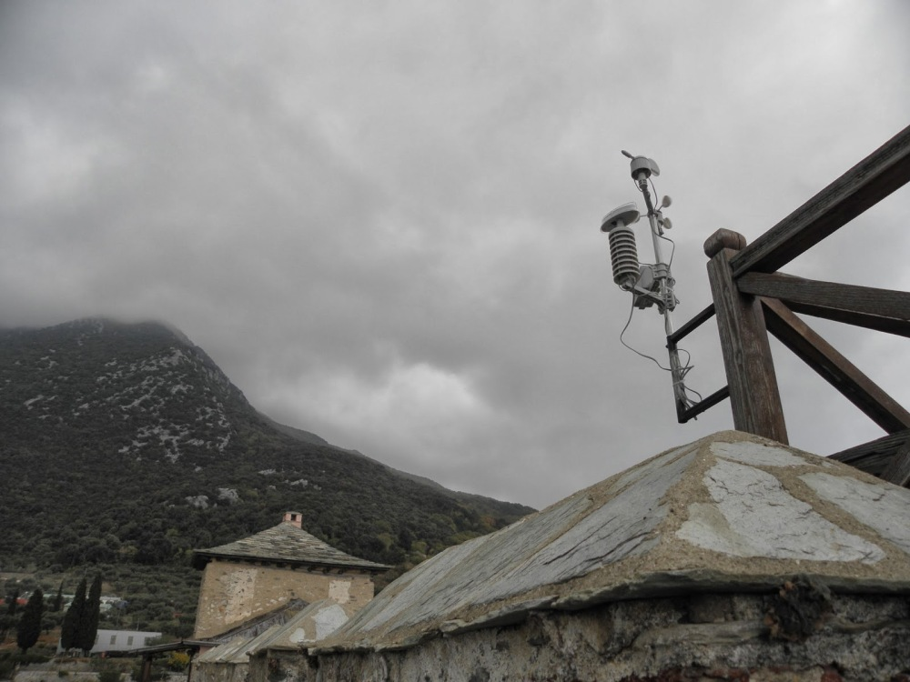 1554  - new weather station with webcam at Lavra monastery (4/6)