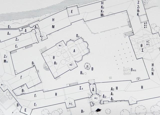 18 Esfigmenou courtyard