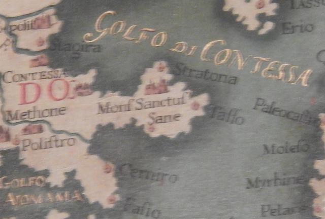 Venetie dogenpaleis kaart 2 (Large)