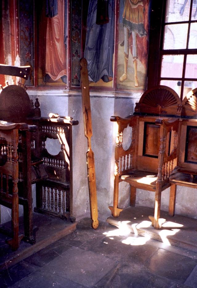 019 Athos - Chilandariou- semantron