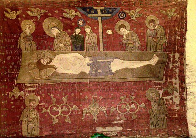 chil cloth dood van christ