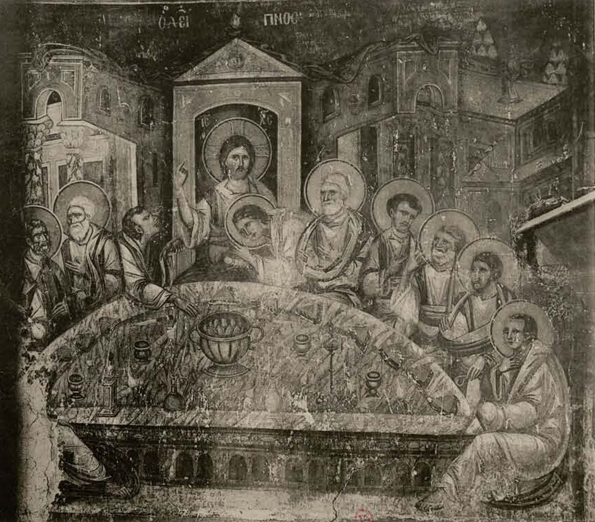1710 – The last supper photographed by Gabriel Millet 1918