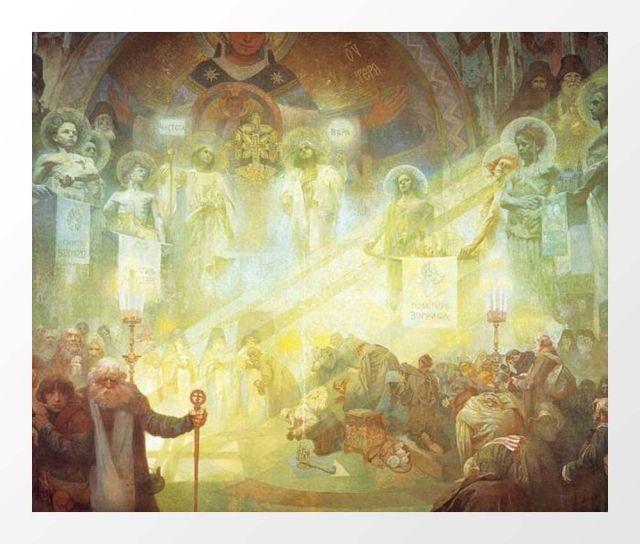Alphonse Mucha Der Heilige Berg Athos 1926