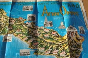 map greek 2 1980