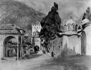 wuttke-carl-1849-1927-germany-klosteranlage-auf-dem-berg-ath-1004997