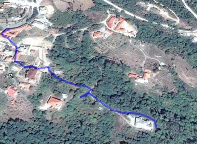 karyes konaki lavra Google earth