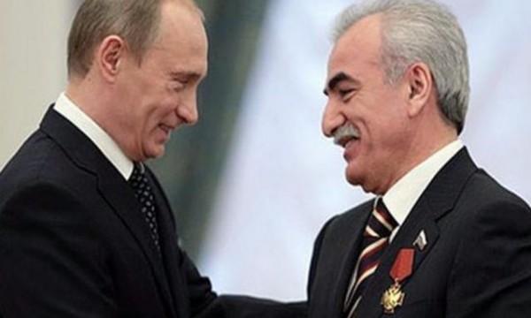 Savvidis en Putin