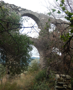 aquaduct near vatopedi
