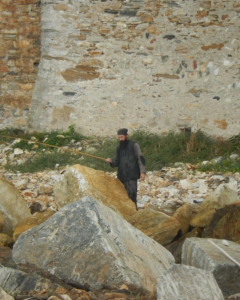 esfigmenou monk fishing