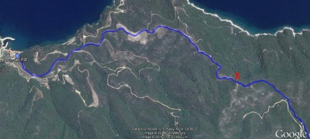 esfigmenou - vatopediou Google mapskopie
