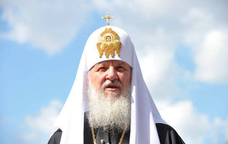 patriarch kirill from moscow
