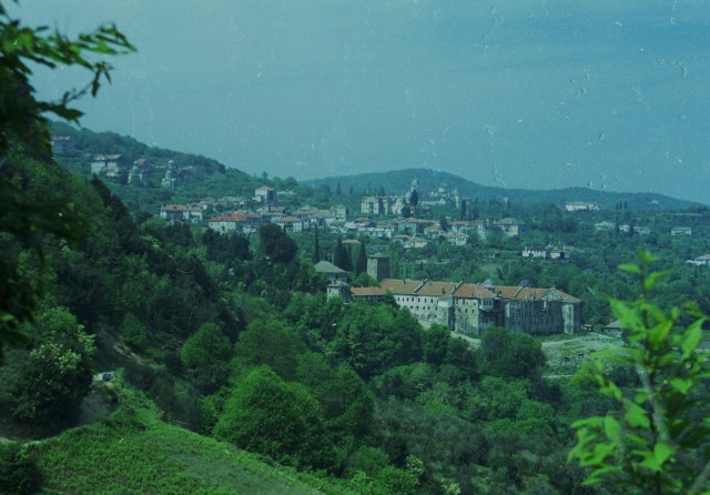 019 Athos panorama Karyes