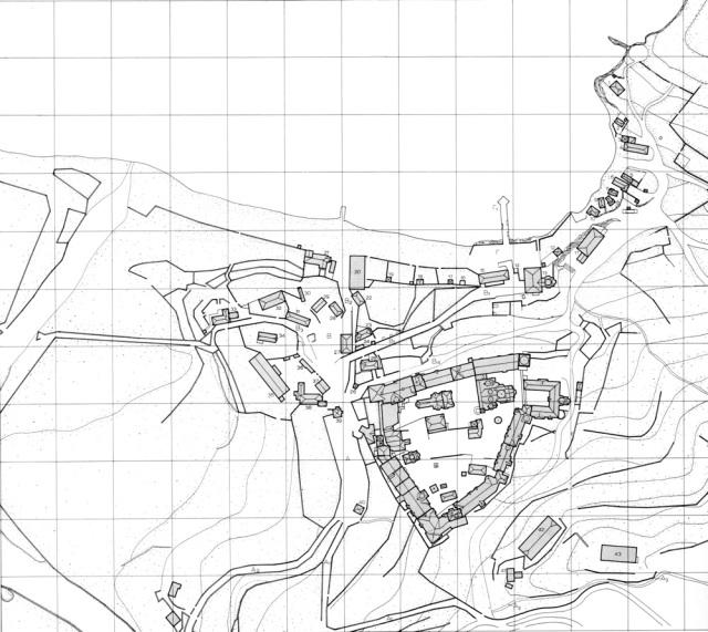Vatopedi plattegrond01