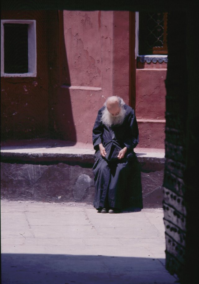 039 Athos - rustende monnik 039